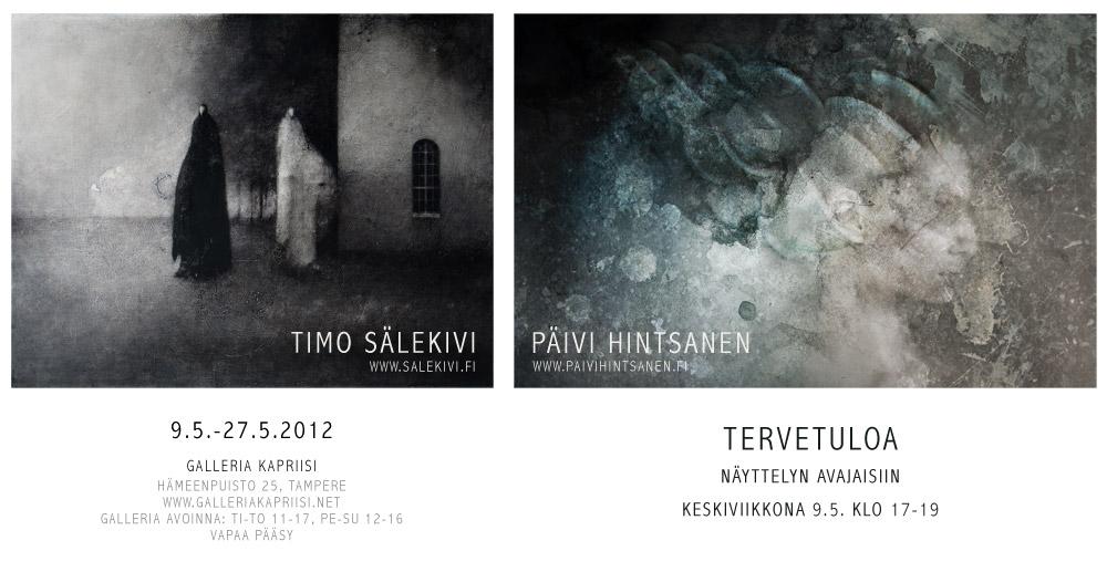 Hintsanen & Sälekivi, kutsukortti Kapriisi 2012