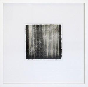 Utu / Mist, framed