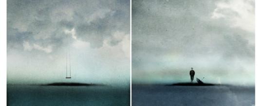 Päivi Hintsanen: Ihmisiä saarillaan / People on Their Islands, 1.-26.7.2015 Runonkulman galleria, Uusikaupunki