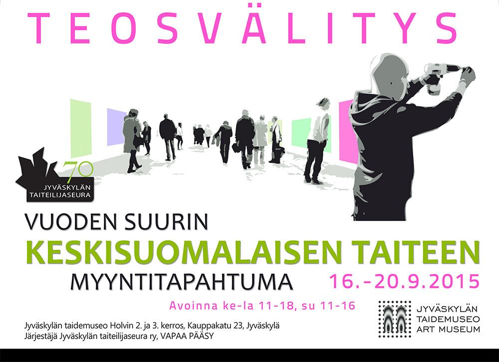 Jyväskylän taiteilijaseuran teosvälitystilaisuus