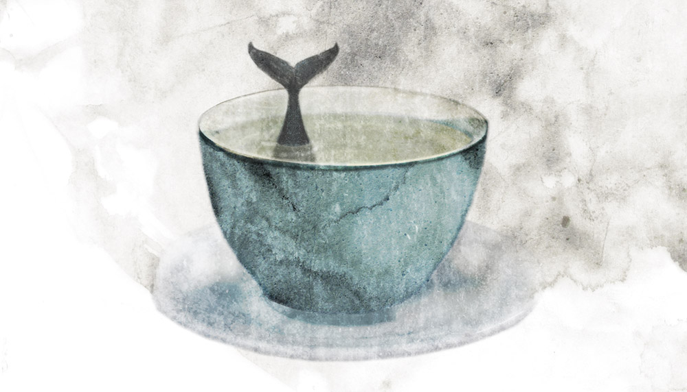Piparminttutee ja valas - Peppermint Tea and a Whale