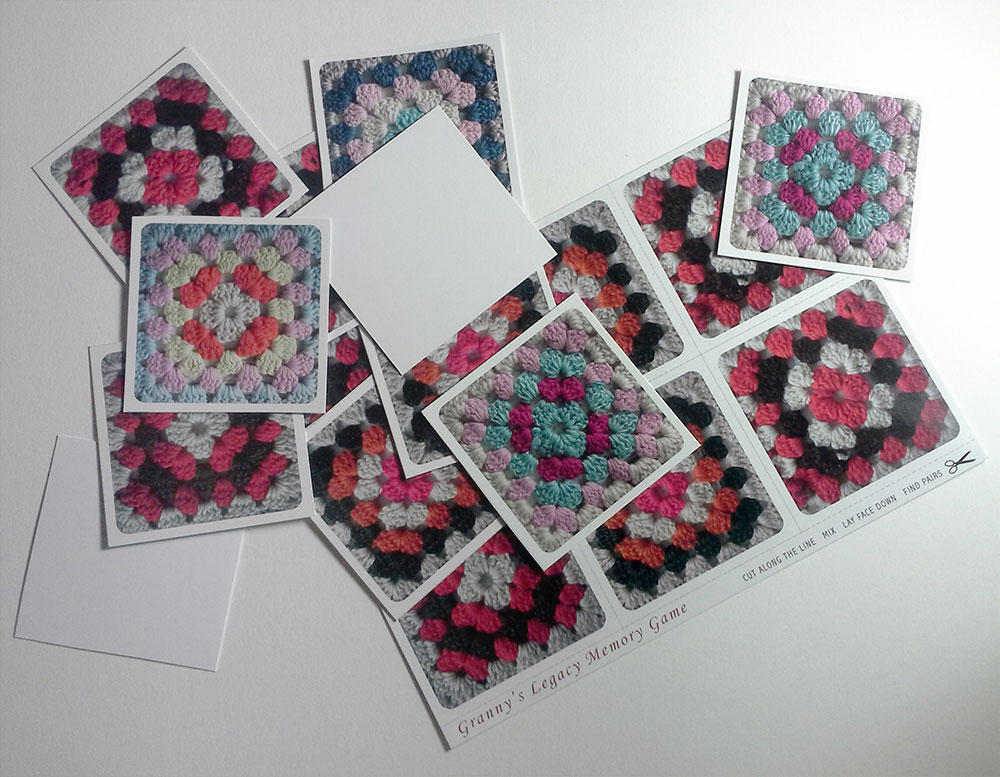 Granny's Legacy Memory Game Cards