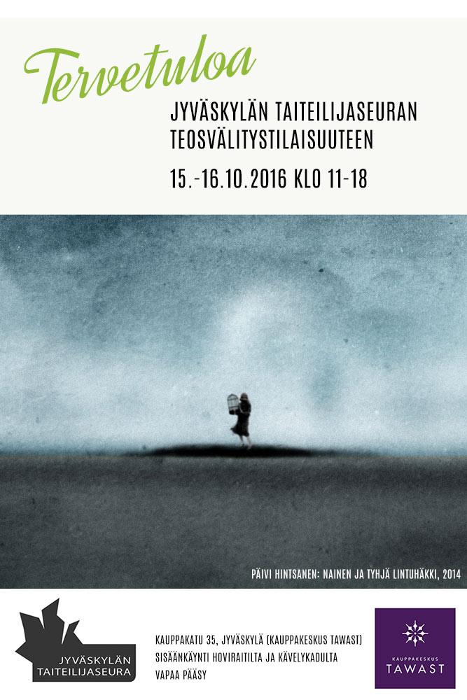 Jyväskylän taiteilijaseuran teosvälitystilaisuus 2016