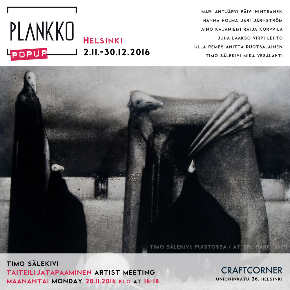 Plankko Popup Timo Sälekivi