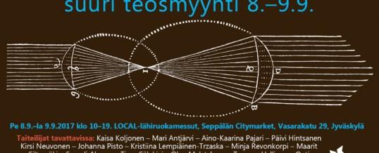 Jyväskylän taiteilijaseuran Suuri Teosmyyntitapahtuma