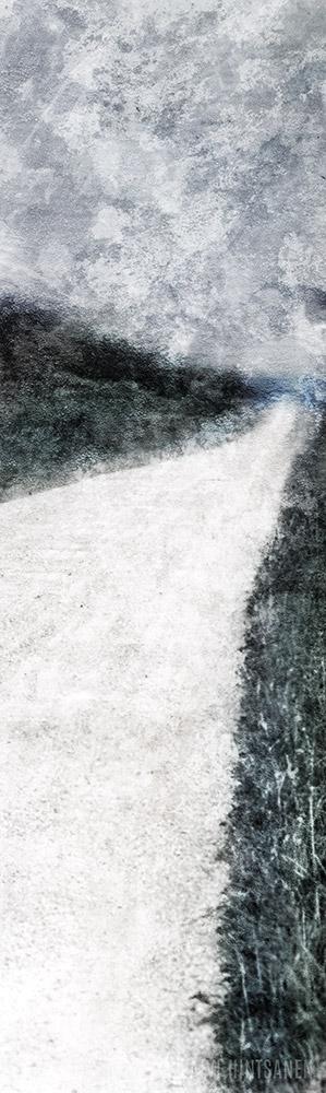 Tie rannalle, syyskuu – A Road to the shore, September